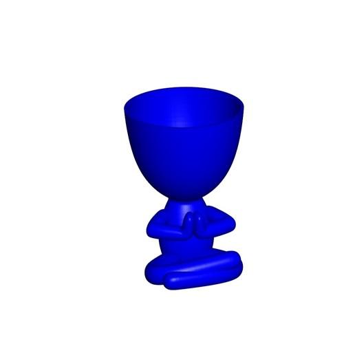 Vaso_17_Azul_1.jpg Télécharger fichier STL gratuit JARRÓN MACETA ROBERT 17 - VASE POT DE FLEURS ROBERT 17 • Modèle à imprimer en 3D, CREATIONSISHI