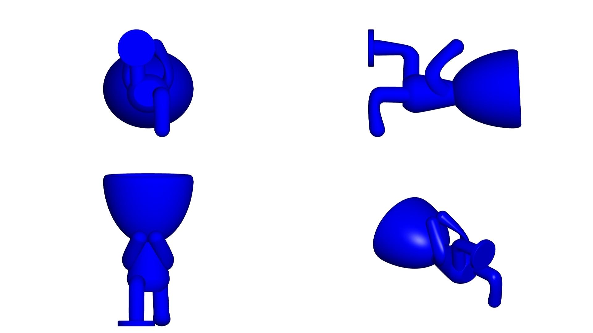 Vaso_08_Azul_2.jpg Télécharger fichier STL gratuit JARRÓN MACETA ROBERT 08 - VASE POT DE FLEURS ROBERT 08 • Modèle à imprimer en 3D, CREATIONSISHI