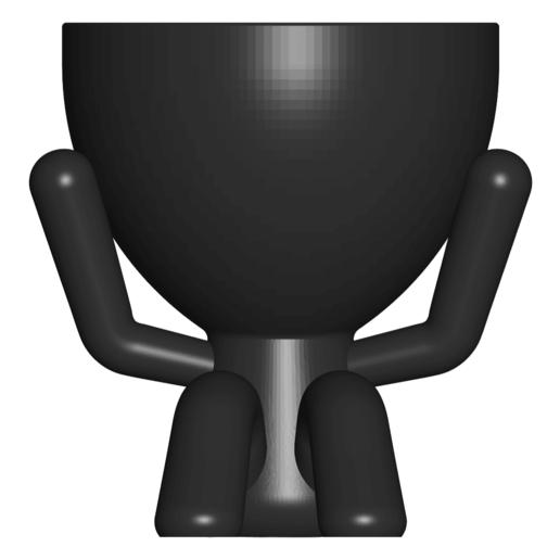 2_negro_1.png Télécharger fichier STL gratuit Les 3 pots verres Robert Sabios Ne lit pas, n'écoute pas, ne voit pas - Les 3 pots verres Robert Sabios Ne lit pas, n'écoute pas, ne voit pas • Objet à imprimer en 3D, CREATIONSISHI