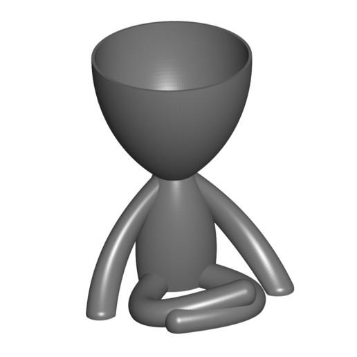 Vaso_104_Gris_1.jpg Télécharger fichier STL gratuit JARRÓN MACETA ROBERT 104 - VASE POT DE FLEURS ROBERT 104 • Objet pour imprimante 3D, CREATIONSISHI
