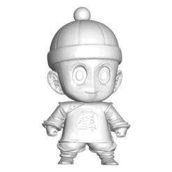 Télécharger fichier STL gratuit Dragon Ball Z DBZ / Figurine miniature à collectionner Dragon Ball Z DBZ CHAOS • Plan pour impression 3D, CREATIONSISHI