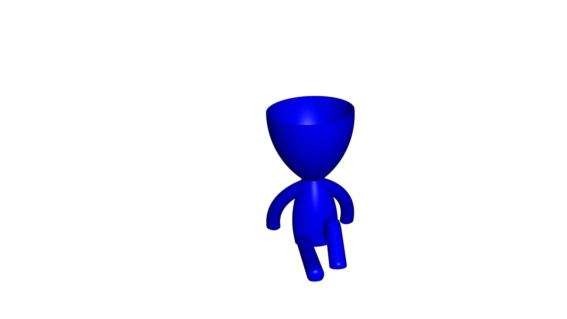 Vaso_102_Azul_1.jpg Télécharger fichier STL gratuit JARRÓN MACETA ROBERT 102 - VASE POT DE FLEURS ROBERT 102 • Plan pour imprimante 3D, CREATIONSISHI