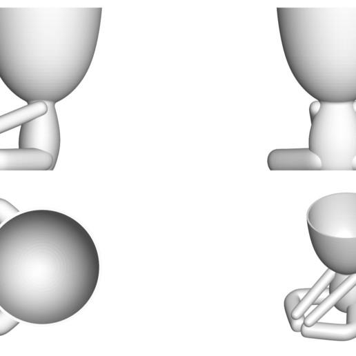 Vaso_12_Blanco_2.jpg Télécharger fichier STL gratuit JARRÓN MACETA ROBERT 12 - VASE POT DE FLEURS ROBERT 12 • Plan pour imprimante 3D, CREATIONSISHI
