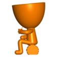 Robert Mate_2.png Télécharger fichier STL gratuit Vase pot de fleurs Argentine Uruguayen Mate Robert Plant - Vase pot de fleurs Argentine Uruguayen Mate Robert • Modèle imprimable en 3D, CREATIONSISHI