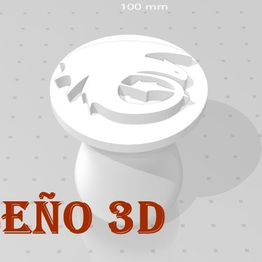 Download free STL file Dragon Seal • Model to 3D print, Salinits