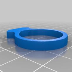 Download free 3D printer designs Ring Modern, Salinits
