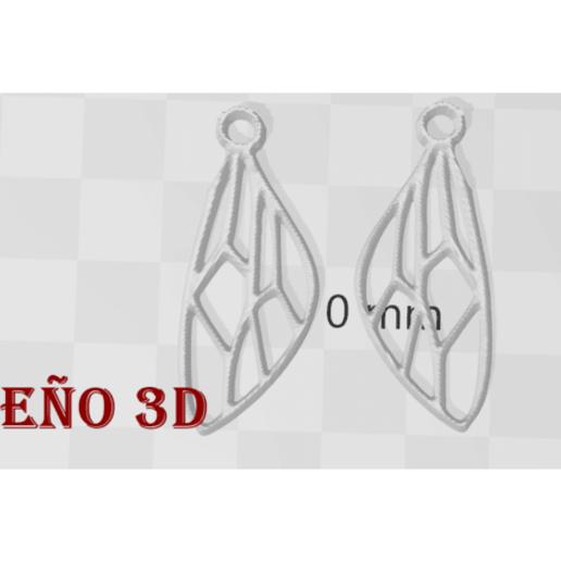 Download free 3D printer model Wings Jewelry, Salinits