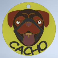 Download 3D printing templates DOG_NOM3, Santiago90