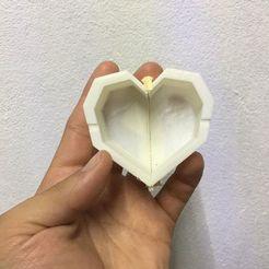 Download 3D print files concrete mold heart pot, AlexSG