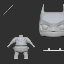 Download 3D printer model Baby Batman Funko, AlexSG
