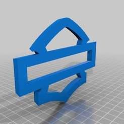 Download free 3D printing templates Harley Logo, patriksoderhjelm