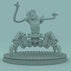 1.jpg Download STL file SPACE MARINE WARHAMMER 40K - JESUS • 3D printable object, PRiNG