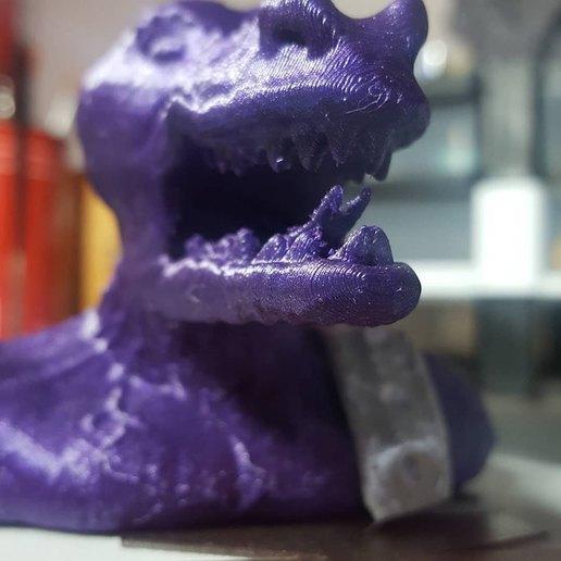 lagarto 3.jpg Download free STL file lizar warrior bust. • 3D printer object, neoneknk