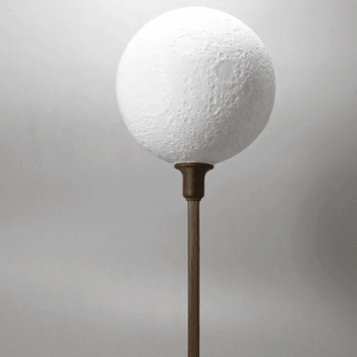 Lamps moon2.png Télécharger fichier STL gratuit Lampe -Moon • Design pour imprimante 3D, tarasshahmatenko