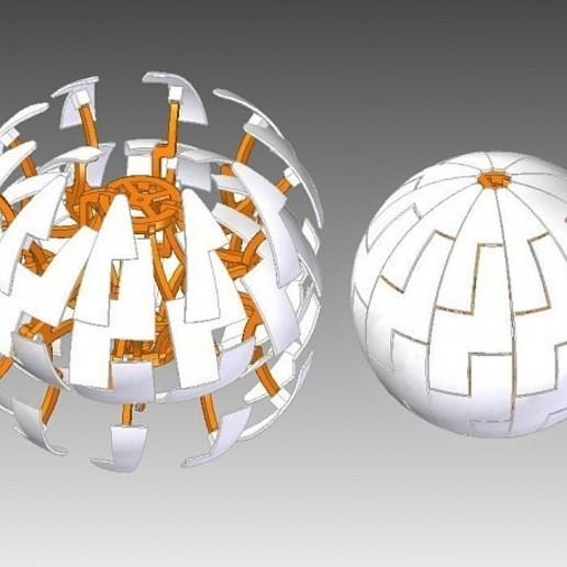 Descargar archivos 3D gratis Lámpara de esfera Dyson, tarasshahmatenko