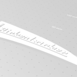 Rickenbacker nameplate.jpg Download STL file Rickenbaker Truss Rod - Nameplate • 3D printer template, jonathancayita