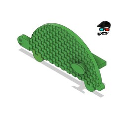 Download free 3D printing files Turtle USB SD Cache for Artillery Sidewinder, Papy3D