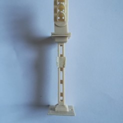 Descargar archivo 3D gratis Señal 3 luces HO, loco231