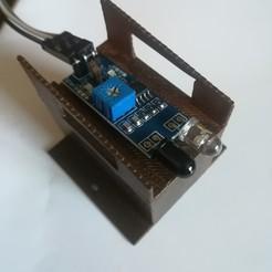 Descargar diseños 3D gratis La cabaña del borde del carril HO para colocar un detector de infrarrojos, loco231