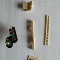 Descargar archivos 3D gratis señal 4 Luces más recordatorio de desaceleración HO, loco231
