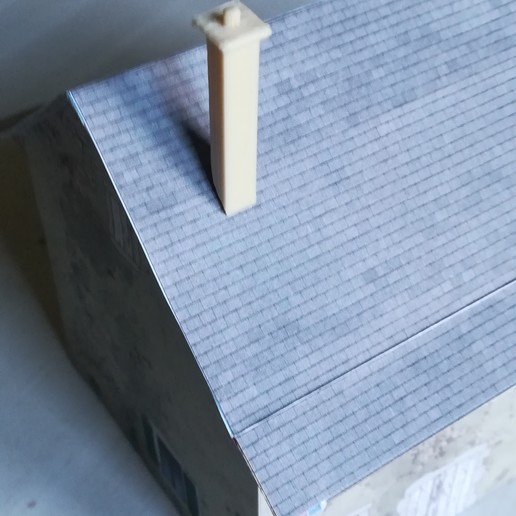Télécharger fichier impression 3D gratuit Cheminée  HO HAUTEUR 30 mm , loco231