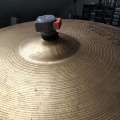 IMG_20190516_141250.jpg Download STL file snap on drum cymbal mount • 3D printable object, pparsniak