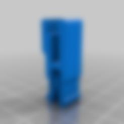 Descargar archivo 3D gratis abrazadera para espejo de cama caliente Anet a8 de aluminio de prusa, pparsniak