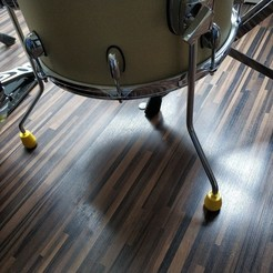IMG_20190516_153411.jpg Download STL file drums floor tom leg • 3D print design, pparsniak