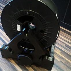 Imprimir en 3D Portabobinas con medidor de nivel de filamentos, pparsniak