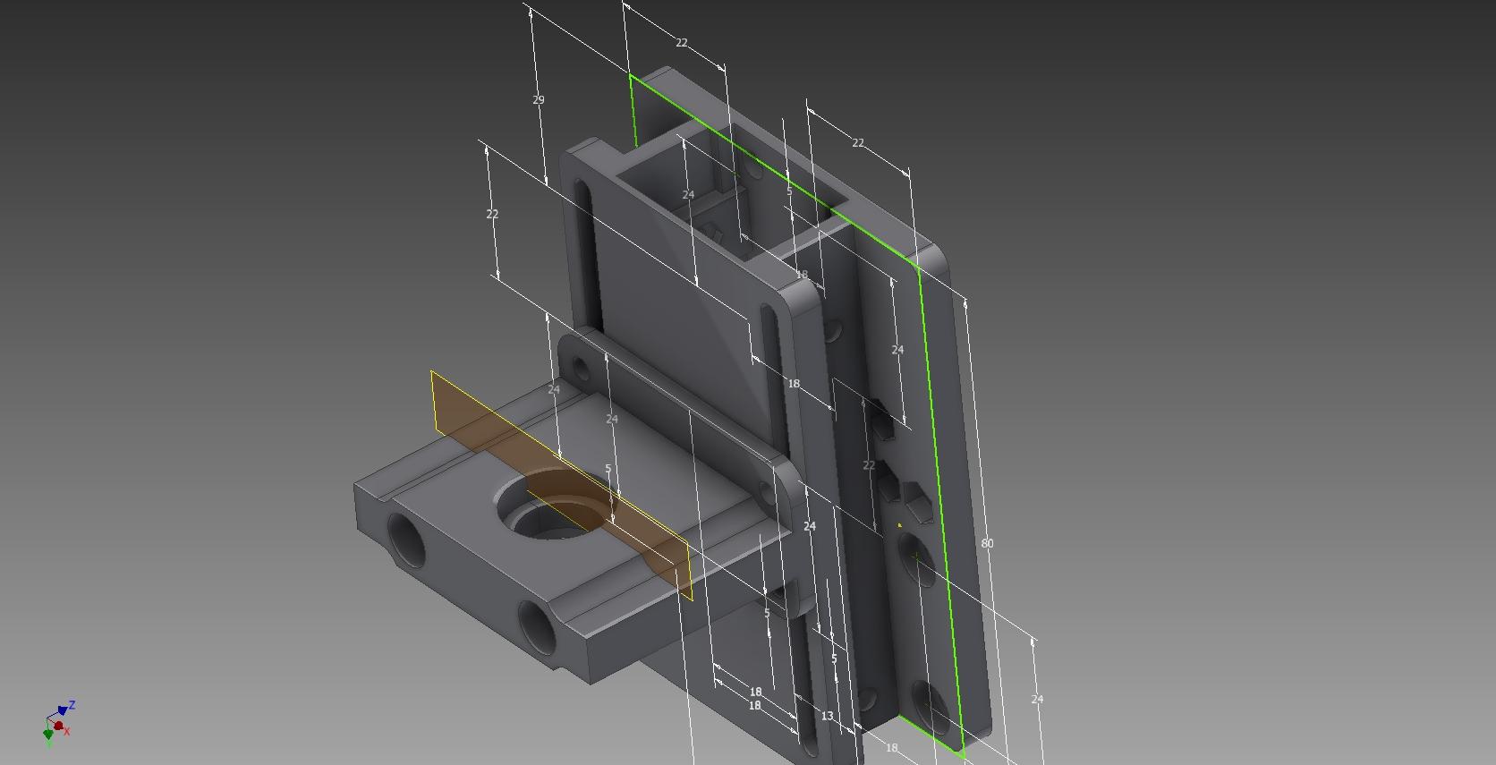 bowden_-_skladanie.jpg Télécharger fichier STL gratuit Anet a8 E3D V6 Adaptateur modulaire E3D V6 avec passage de câbles / gaine arrière amusante • Plan pour imprimante 3D, pparsniak