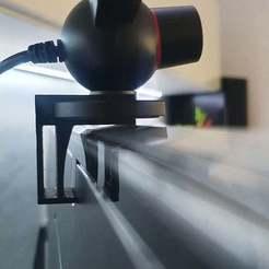 03.jpg Télécharger fichier 3MF gratuit Clip pour moniteur oculaire PS3 (TV LED Samsung, moniteur Dell) • Plan pour imprimante 3D, stanoba