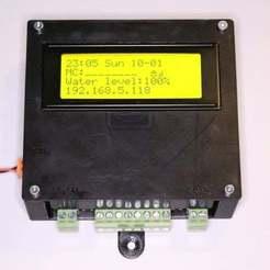 IMG_8923.JPG Télécharger fichier STL gratuit Boîtier PI OpenSprinkler avec LCD • Objet pour imprimante 3D, stanoba