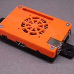 IMG_7877.JPG Télécharger fichier STL gratuit Boîtier PC PI orange pour profilé aluminium 30x30 • Plan à imprimer en 3D, stanoba