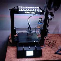 Download free STL RGB Led light for Anycubic i3 Mega, michal0082