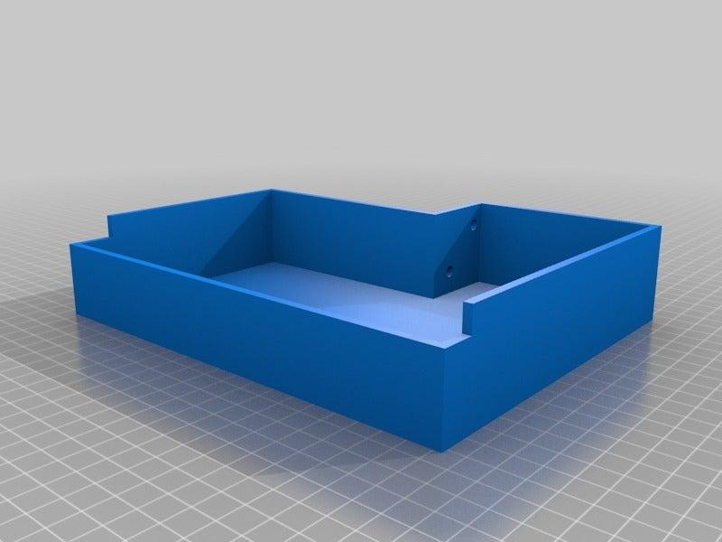 d018bbd8e5fa42f831f58688669128d7.png Download free STL file Display cases for Ender 3 and BIGTREETECH TFT35 V1.2 control panel TFT 3.5 v2 • 3D print model, michal0082