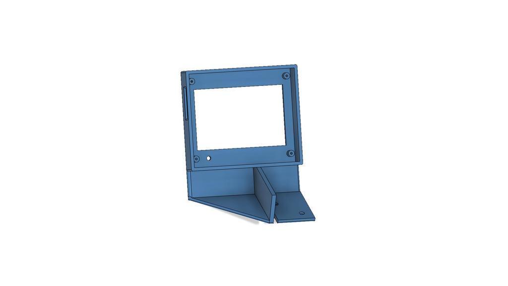 SKR_display_v2.jpg Download free STL file Display cases for Ender 3 and BIGTREETECH TFT35 V1.2 control panel TFT 3.5 v2 • 3D print model, michal0082