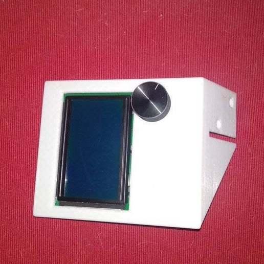 IMG_20190509_173136.jpg Download free STL file Display cases for Ender 3 and BIGTREETECH TFT35 V1.2 control panel TFT 3.5 v2 • 3D print model, michal0082