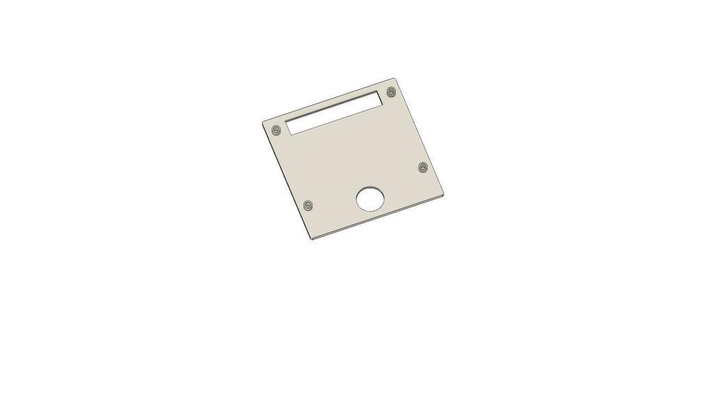 Ender_3_display_v4.jpg Download free STL file Display cases for Ender 3 and BIGTREETECH TFT35 V1.2 control panel TFT 3.5 v2 • 3D print model, michal0082