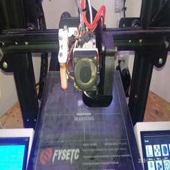 IMG_20191113_230623.jpg Download free STL file Hotend holder XCR 2IN1-V2 for Ender 3 • 3D print model, michal0082
