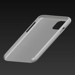 Télécharger fichier 3D Coque Iphone 11, hugo-danielian