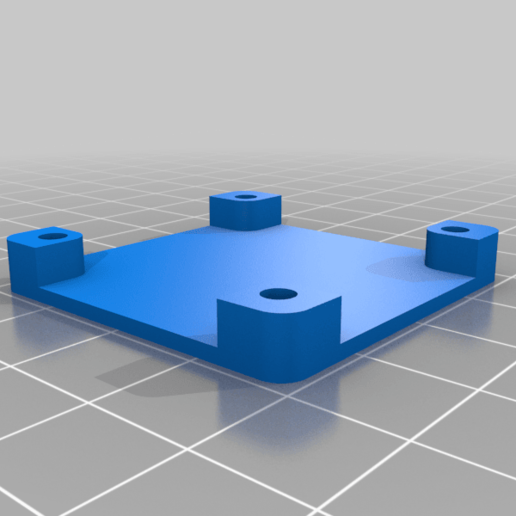 Protection_Camera_HQ.png Download free STL file RPI HQ Camera support • 3D printer design, jeek25