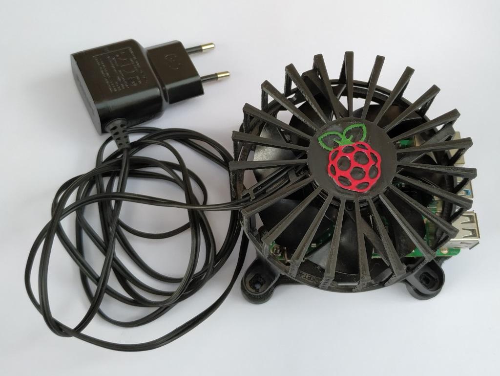 Rasp4_34.jpg Télécharger fichier STL gratuit Etui Pi 4 framboise pour ventilateur • Design pour imprimante 3D, jeek25