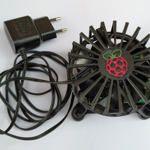 Download free STL file Raspberry Pi 4 case for fan, jeek25