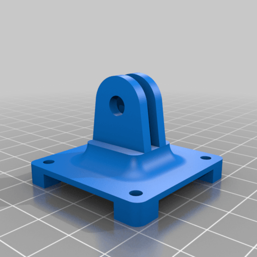 Support_Camera_HQ.png Download free STL file RPI HQ Camera support • 3D printer design, jeek25