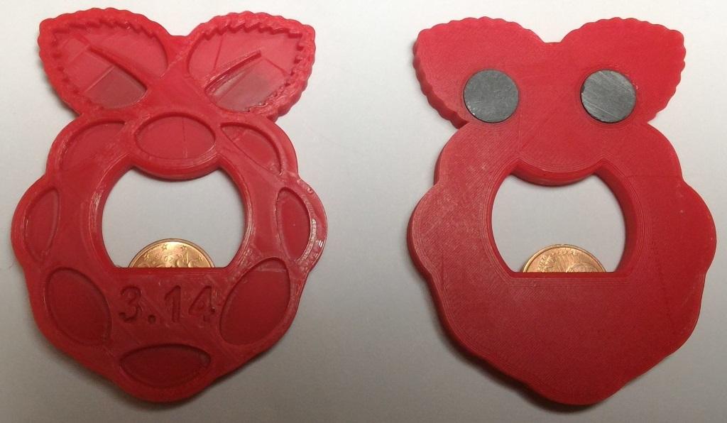 Framboise.jpg Download free STL file Raspberry (Pi) Bottle Opener • 3D printer template, jeek25
