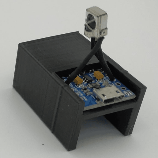 Download free STL Arduino Pro Micro, jeek25