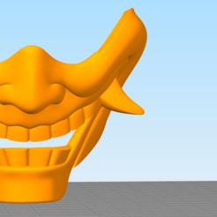 Capture.PNG Télécharger fichier STL masque hannya • Plan à imprimer en 3D, Tule