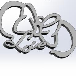 lovemini.PNG Download STL file minnie mouse • 3D print design, Tule