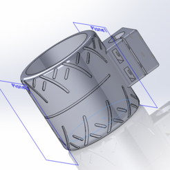 Download 3D printer files Tire Can Holder, Tule