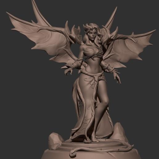 Download 3D printing templates Blackthorn Morgana (League of legends), Kside